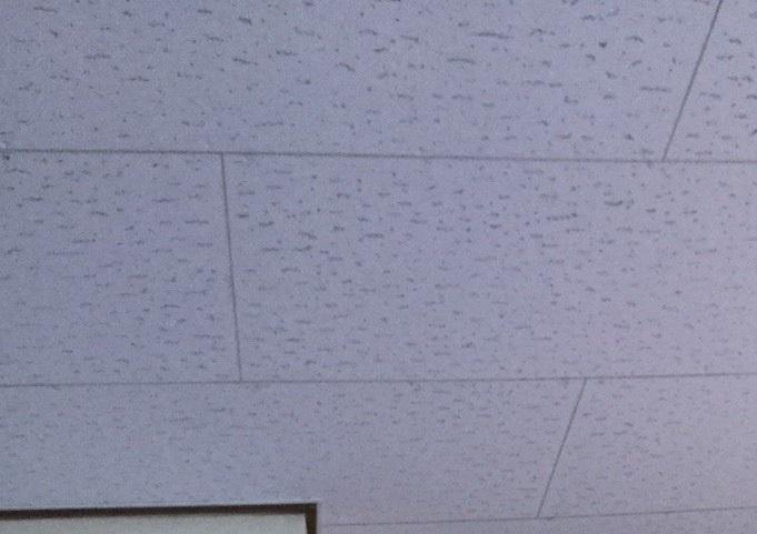 雨漏り跡のあった天井ボードに増し張りした水戸市のリビング天井