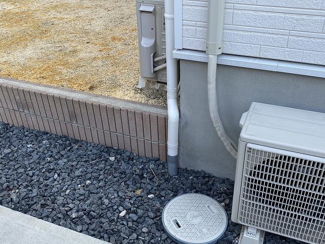 交換補修が完了した水戸市の現場雨樋