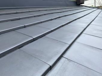 スーパートライ110スマートで施工した、ひたちなか市の屋根