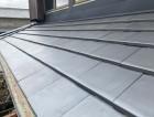 防災瓦での葺き替え工事が完了した屋根