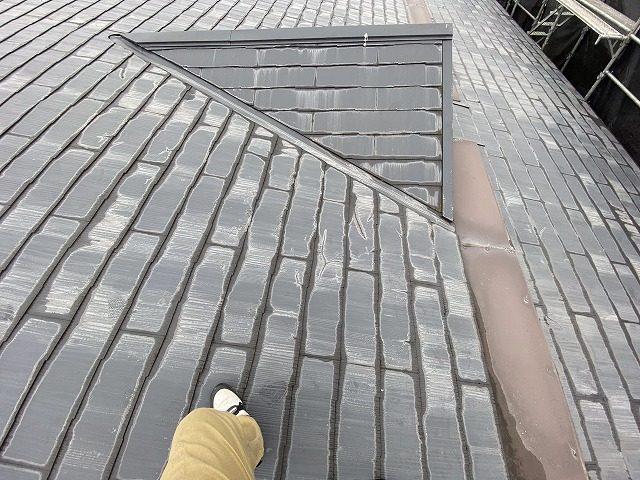 雨漏りを起こしていたコロニアルスレート屋根