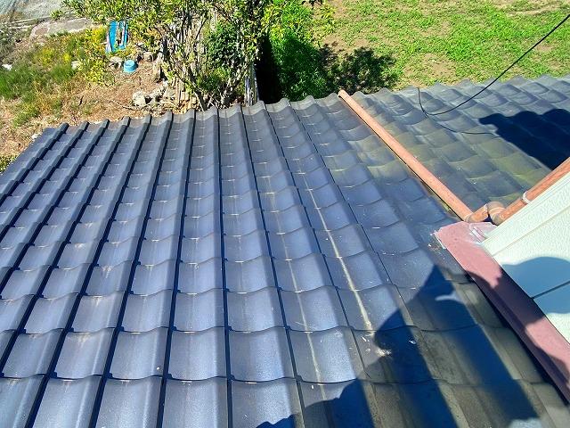 屋根リフォーム葺き直し後