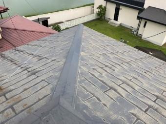 水戸市のスレート屋根を調査