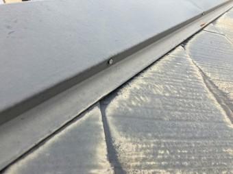 水戸市のスレート屋根を調査して発見した釘浮き