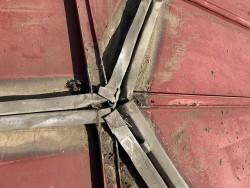 瓦棒葺き屋根三つ又板金撤去