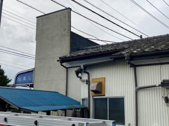 小美玉市のパラペット屋根の屋根の解体には屋根の躯体が絡みます