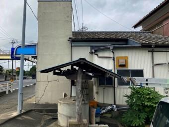 小美玉市のパラペット屋根は元々店舗を経営していました