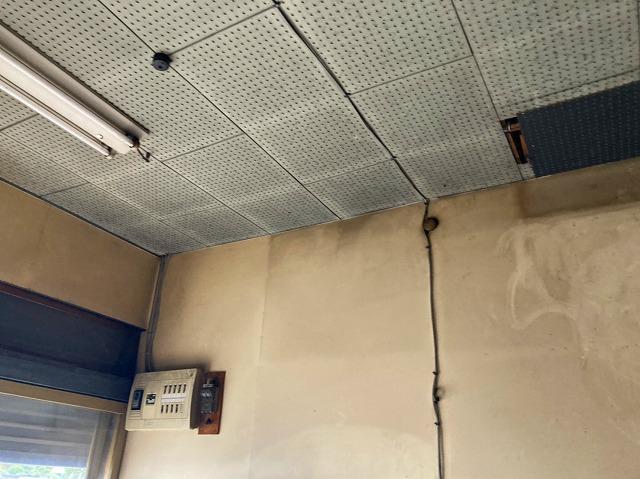 小美玉市のパラペット屋根の内部天井