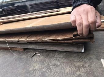 屋根下地剥離