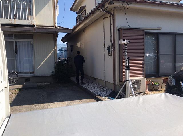 地震保険調査クラック鑑定