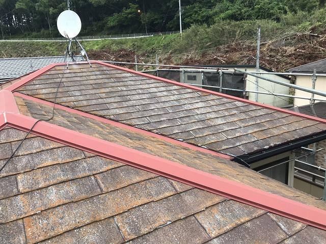 カバー屋根工事が必要なパミール屋根
