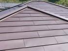 ガルバリウム鋼板のカバー工法で施工したひたちなか市の屋根