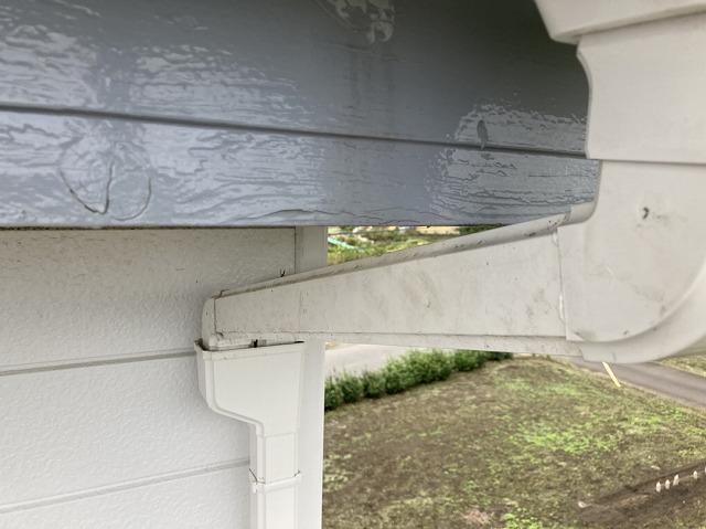 呼び樋をPマスに接続して補修完了