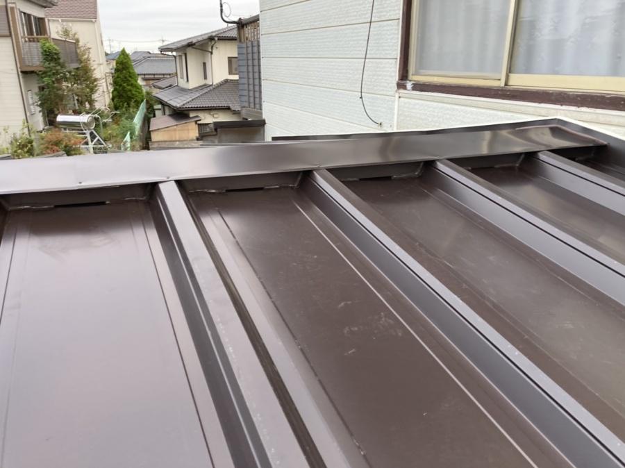屋根カバー工法が完成しました